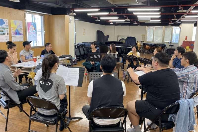 「2019新北市音樂劇節」邀請「愛樂劇工廠」帶來最新力作的中文音樂劇《很愛.很愛你》12月14日、15日在新北市藝文中心進行首演。  (圖/新北市文化局提供)