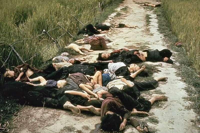 越戰時期「美萊村大屠殺」(My Lai Massacre)(Wikipedia / Public Domain)