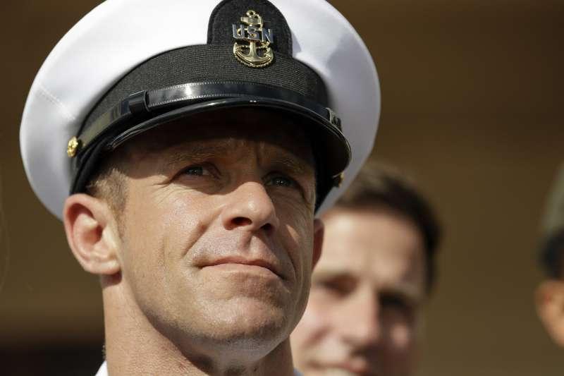 美國海軍海豹部隊(Navy SEAL)士官長賈拉格(Eddie Gallagher)(AP)