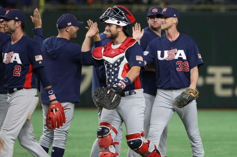 美國隊在12強賽敗給墨西哥,無緣拿下東京奧運門票,在未來的8搶1資格賽中勢必面臨更艱鉅的考驗。 (圖片取自WBSC臉書粉絲團)
