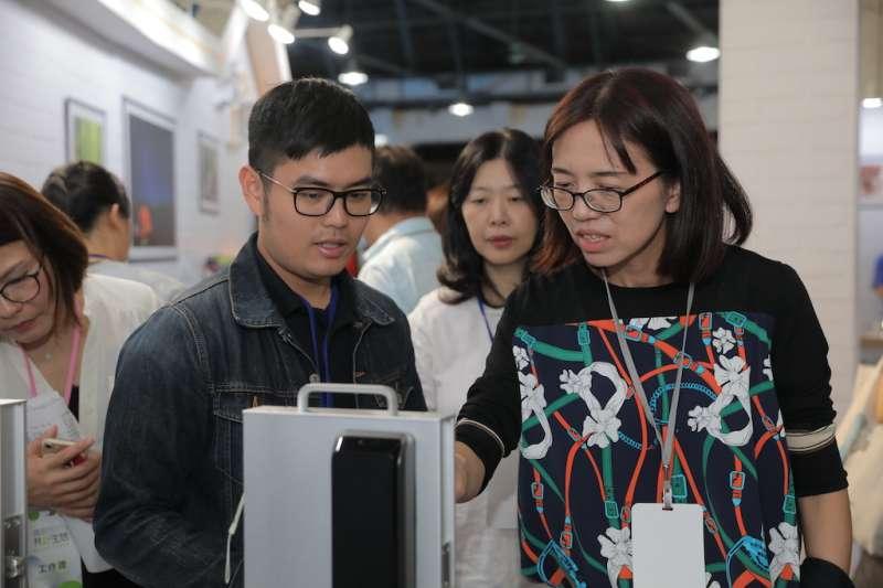 「創新世代x共好生活」聯合成果展,邀請到全臺共81家的中小企業共襄盛舉。(圖/經濟部提供)