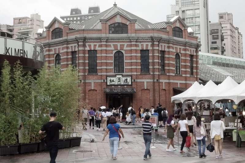 西門紅樓不是第一座公營市場?(圖/作者提供)
