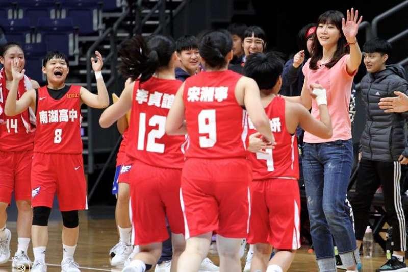 去年南湖女籃中斷連續五年8強紀錄,今年他們準備充足強勢回歸。(Double Pump女子籃球誌提供)