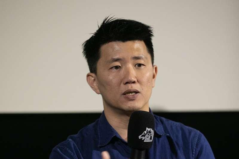 20191119-電影《菠蘿蜜》由來自馬來西亞的廖克發執導,圖為廖克發17日晚間出席映後座談。(金馬執委會提供)