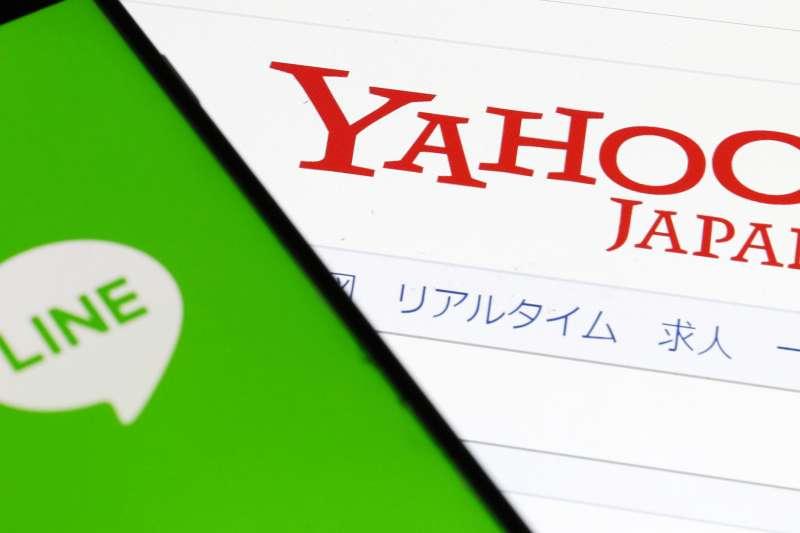 雅虎日本與Line談妥合併基本事宜,成為日本的超級IT公司。(美聯社)