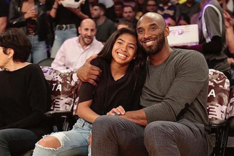 布萊恩女兒吉安娜不論長相、天賦都和爸爸布萊恩相似,未來也想走籃球之路。(取自Venessa Bryant IG)
