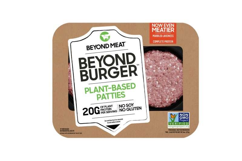 20191120 美國素肉大廠Beyond Meat的明星商品「未來漢堡排」(全家便利商店提供)