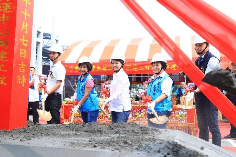台中市豐原轉運中心10月7日動土,山城發展再邁一步。(圖/台中市政府)