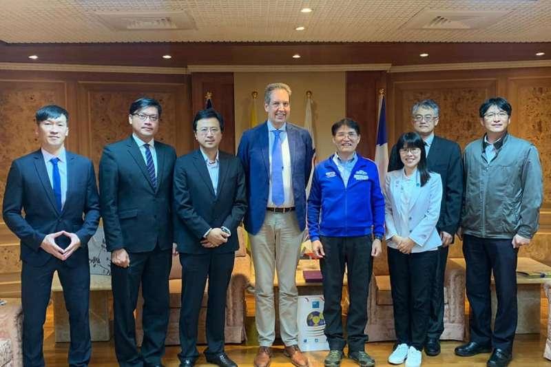中華民國合球協會成功申辦明(2020)年「IKF(International Korfball Federation)U21級世界合球錦標賽」、「2023年第12屆IKF世界合球錦標賽」。(中華民國合球協會提供)