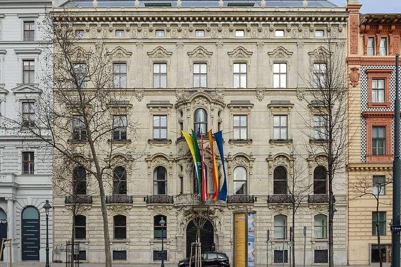 坐落於維也納市中心的KAICIID文化中心,這棟建築物曾是十九世紀奧地利御用建築師Johann Sturany的宅邸(圖片來源:Thomas Ledl / Wikipedia Commons 想想論壇提供)