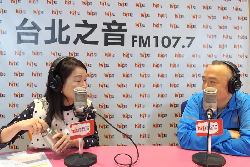 韓國瑜競選辦公室活動總監潘恆旭(右)20日接受電台專訪時提到,只要韓國瑜在高雄的選情能贏,2020總統大選基本上也沒問題。(截圖自《周玉蔻嗆新聞》專訪)