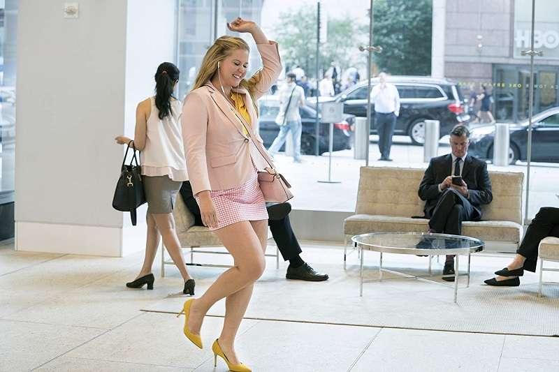 艾米舒默為微胖女孩做了很好的示範。(圖/imdb)