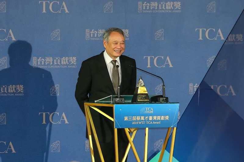 20191125-導演李安25日獲頒第三屆蔡萬才台灣貢獻獎。(顏麟宇攝)