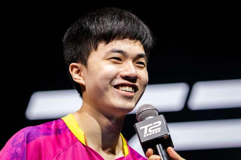 國際桌球總會2日公布最新世界排名,台灣桌球小將林昀儒(圖)2019年年底年終總決賽8強止步,排名從第7,上升1名,來到生涯新高第6。 (圖片取自T2 Diamond臉書粉絲團)