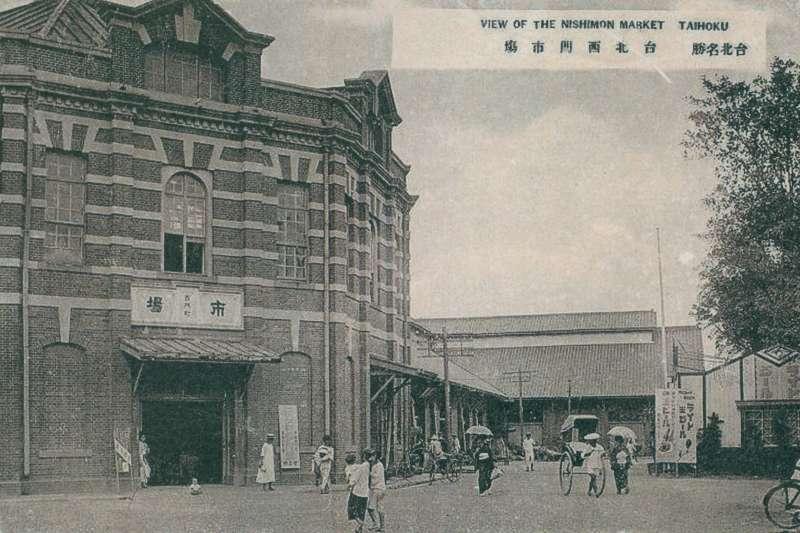 日治時期的西門紅樓(圖/作者提供)