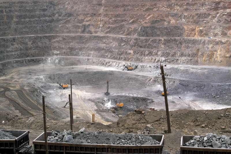 中國內蒙古自治區稀土礦場(資料照,AP)