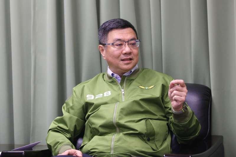 面對楊蕙如操作網軍一事,民進黨黨主席卓榮泰(見圖)4日表示,楊蕙如仍是黨員,但自己並沒有與她有過互動。(資料照,柯承惠攝)