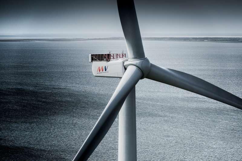 哥本哈根基礎建設基金(CIP)27日說明國產化審查進度,指出風機供應商菱重維特斯(MHI Vestas)將在台設葉片廠、及功率轉換模組(PCM)組裝廠等。(取自MHI Vestas Offshore Wind)