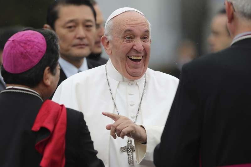 天主教教宗方濟各2019年亞洲行,首度造訪日本。(AP)