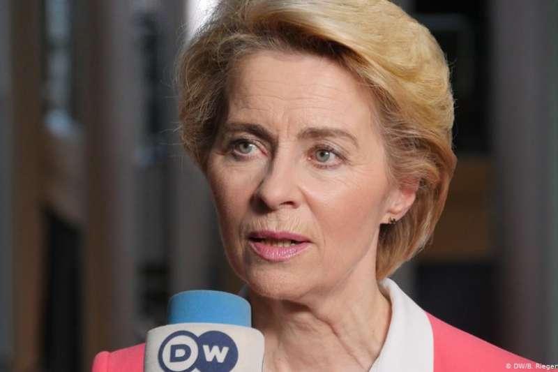 新屆歐盟委員會主席馮德萊恩(Ursula von der Leyen)希望在2050年前歐洲實現氣候中立並推進數字化進程。她日前接受德國之聲專訪,介紹了她雄心勃勃的計劃。(DW)