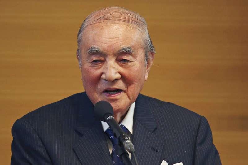 因應武漢肺炎疫情,日方決定,日本前首相中曾根康弘葬禮無限期延後。(資料照,美聯社)