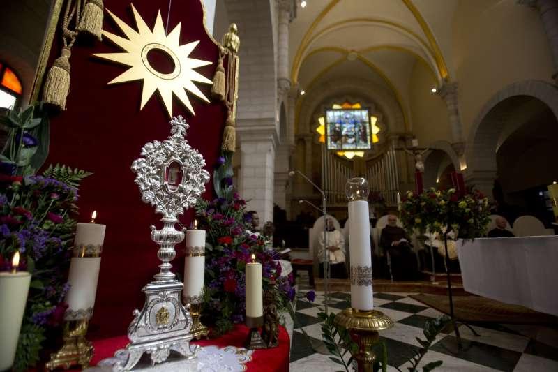 伯利恆耶誕:梵蒂岡把聖嬰馬槽的古文物送回巴勒斯坦約旦河西岸大城伯利恆(AP)