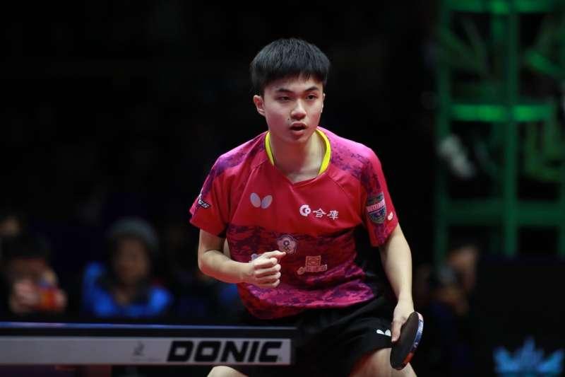 林昀儒在世界杯桌球賽扳倒里約奧運金牌得主馬龍,奪得隊史最佳的銅牌。 (取自國際桌總官方臉書粉絲團)