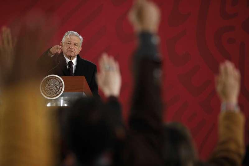 墨西哥總統羅培茲.歐布拉多爾上任一周年。(AP)