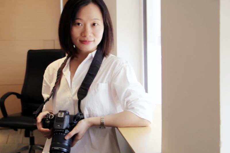 被中共當局以「尋釁滋事」指控關押超過1個半月的中國獨立記者黃雪琴。(截自微博)