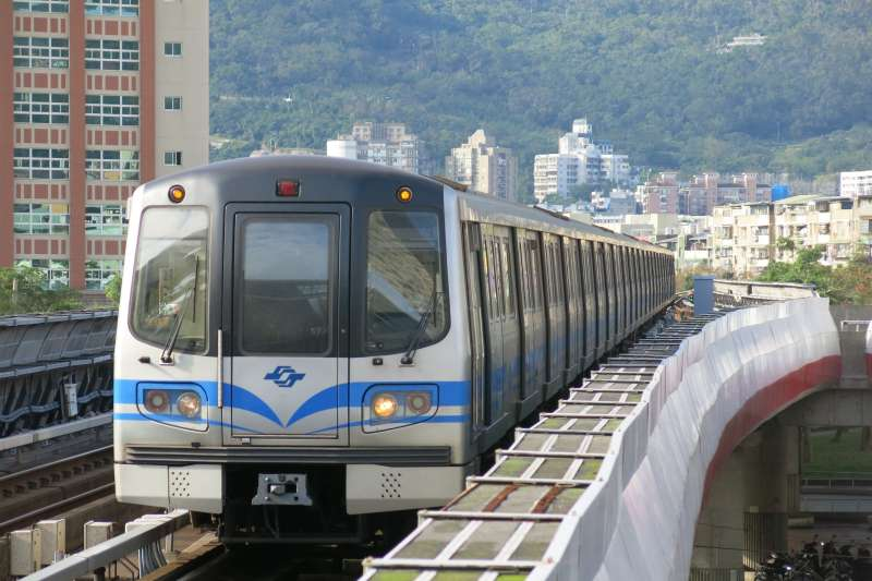 台北捷運。(圖/維基百科)