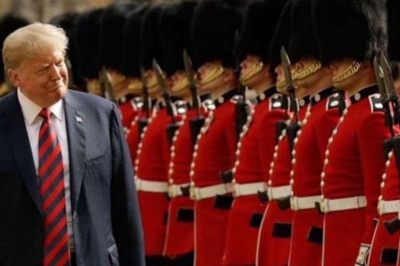 美國總統川普。(AFP∕BBC中文網)