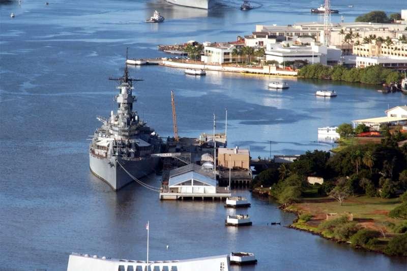 美軍珍珠港─希卡姆聯合基地(Joint Base Pearl Harbor-Hickam)(Wikipedia / Public Domain)