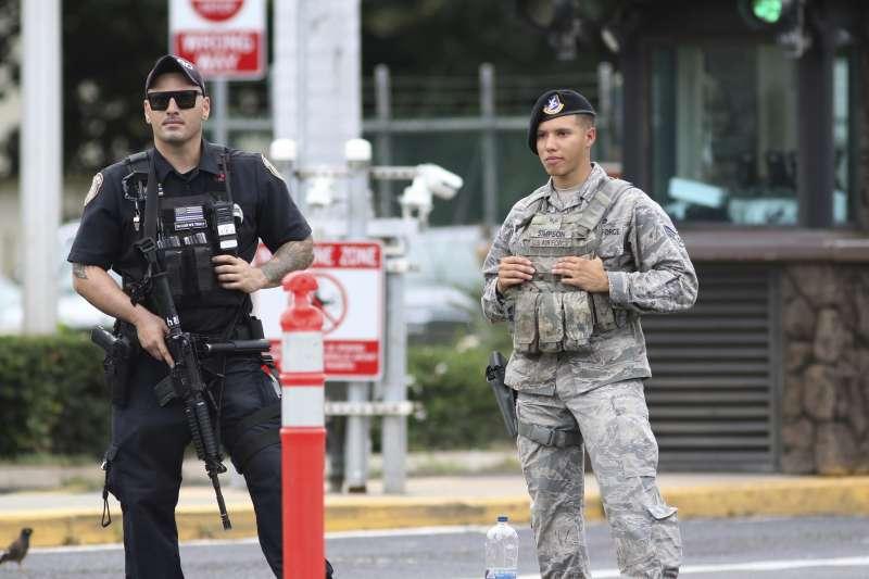 2019年12月4日,美軍珍珠港─希卡姆聯合基地(Joint Base Pearl Harbor-Hickam)發生槍擊案(AP)