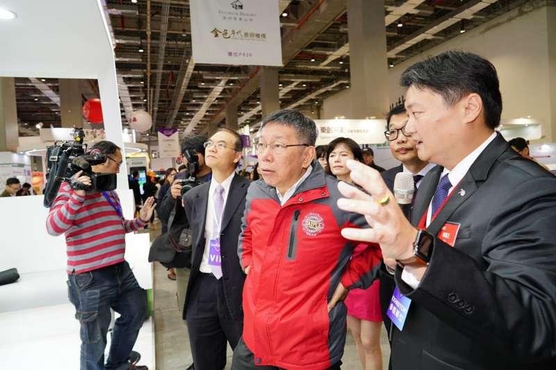 民眾黨不分區被提名人蔡壁如表示,台北市長柯文哲(見圖)過去曾因為楊蕙如等「3個女人」,決定廢掉「市長專簽」補助,沒有所謂的養出楊蕙如。(資料照,台北市政府提供)