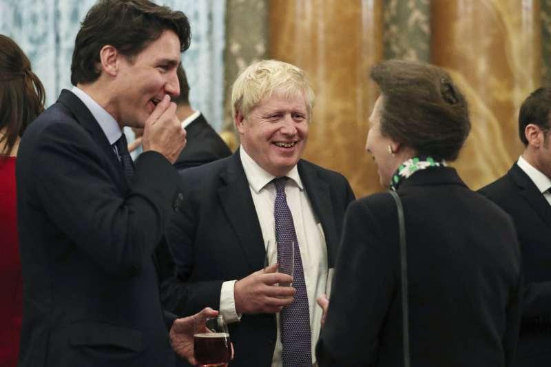 北約70周年峰會在倫敦舉行。(資料照,AP)