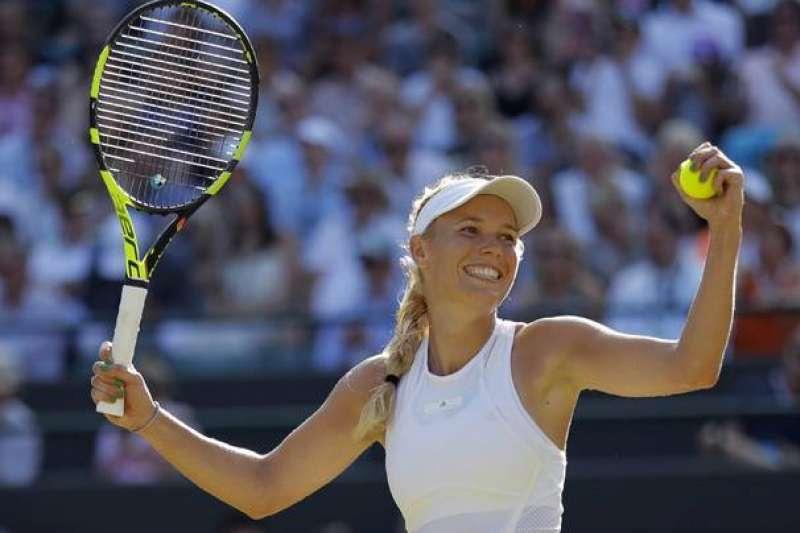 曾登女網世界排名第一的「丹麥甜心」瓦芝妮雅琪(Caroline Wozniacki)今天宣布,將在下月的澳洲網球公開賽後退休。(AP)