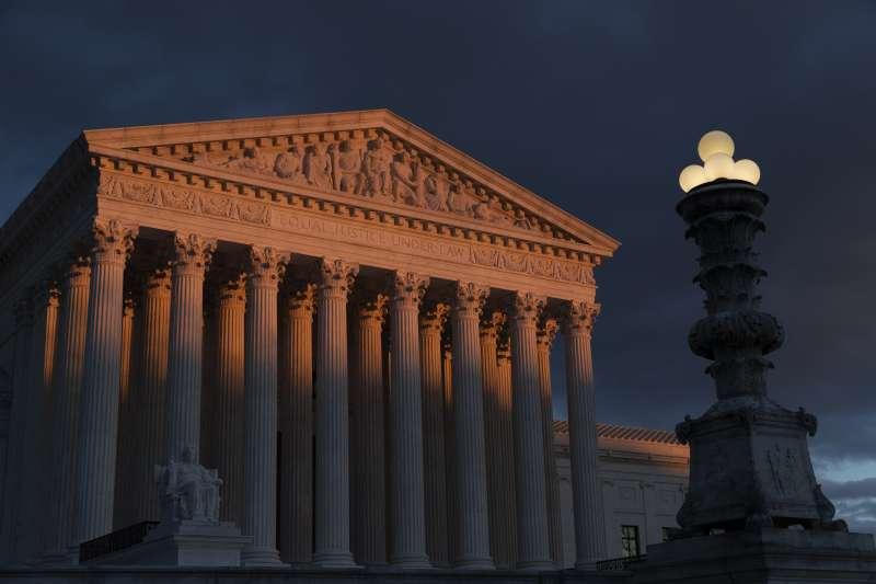 美國聯邦最高法院(AP)