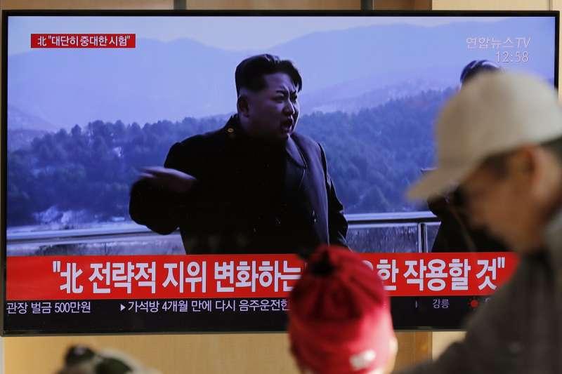 2019年12月8日,北韓宣布進行「重大試驗」,南韓媒體高度關注(AP)