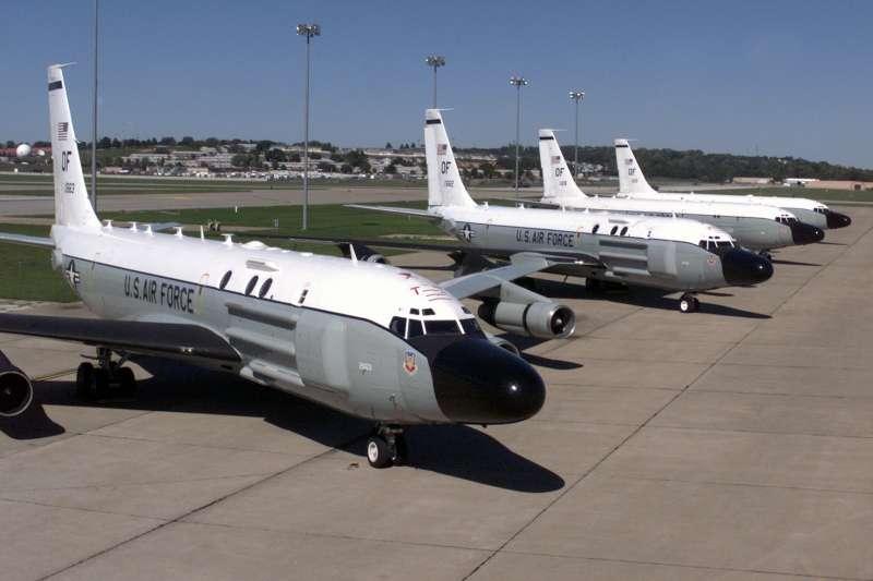 美軍「RC-135S眼鏡蛇球」(RC-135S Cobra Ball)偵察機(Wikipedia / Public Domain)