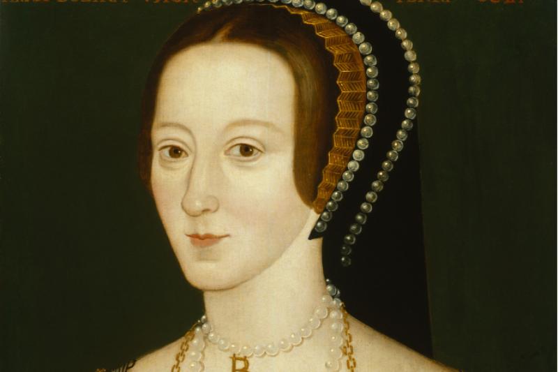 英國國王亨利八世的第二任妻子安妮.博林(Anne Boleyn),總被歷史描繪成野心十足的淫婦。(維基百科公有領域)