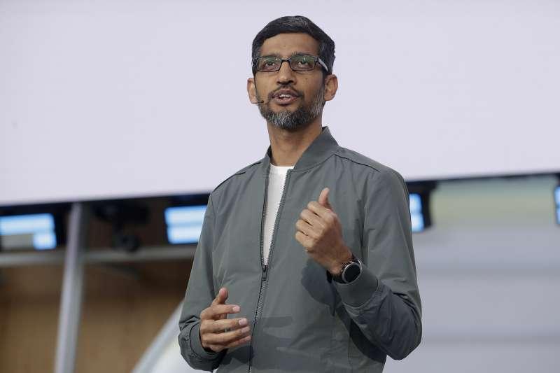 谷歌企業帝國掌門人皮猜(Sundar Pichai)(AP)