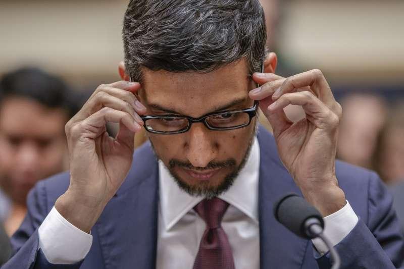 谷歌企業帝國掌門人皮查(Sundar Pichai)(AP)