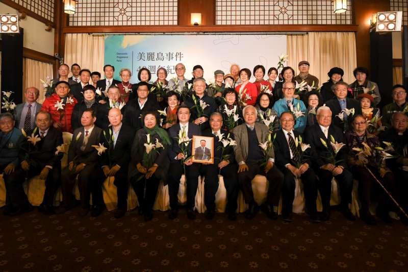 20191209-民進黨9日在圓山飯店舉辦「美麗島40週年紀念活動」。(民進黨提供)