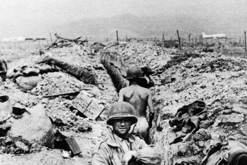 奠邊府戰役之戰場照。(圖/維基百科)