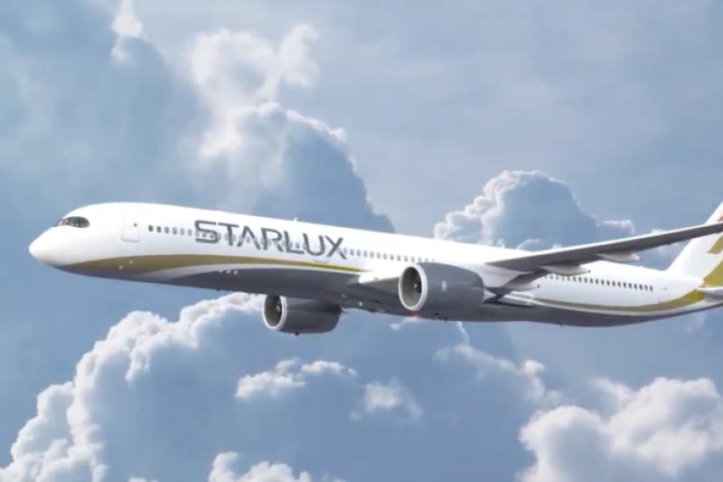 星宇航空今年與空中巴士購買17架A350廣體客機,預計2021年底到2024年陸續交機(圖/星宇航空)