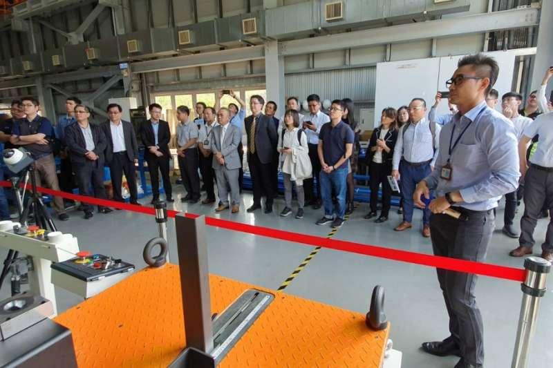 「沖壓模具產業智慧製造示範場域」未來提供觀摩參觀、模具開發、零件代工、智慧製造技術輔導等服務。(圖/金屬中心提供)