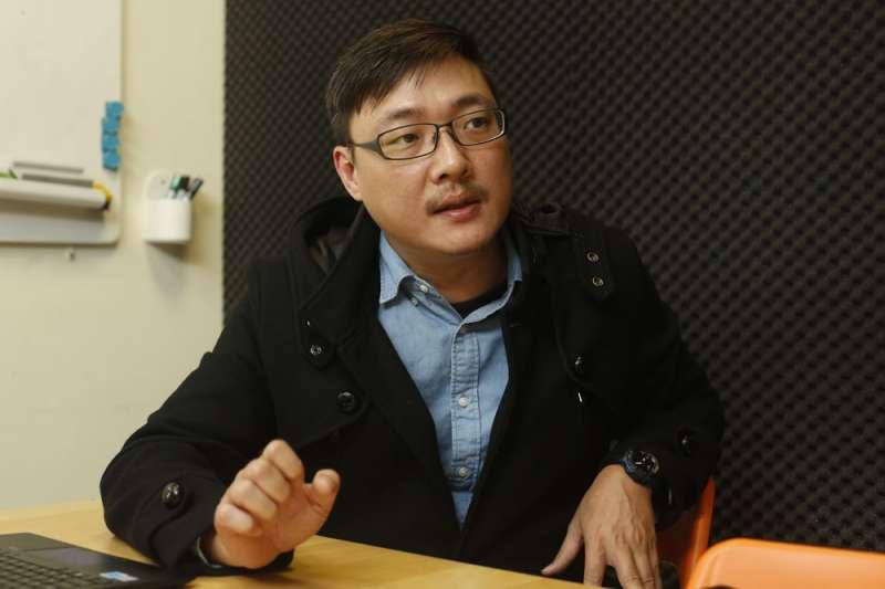 賈培德率辯協籌辦政黨票辯論會,希望讓小黨也有發聲的空間。(郭晉瑋攝)