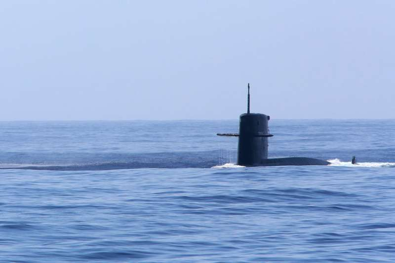 華府部分人士主張,國軍應大幅削減戰機、潛艦和軍艦等投資。(柯承惠攝)