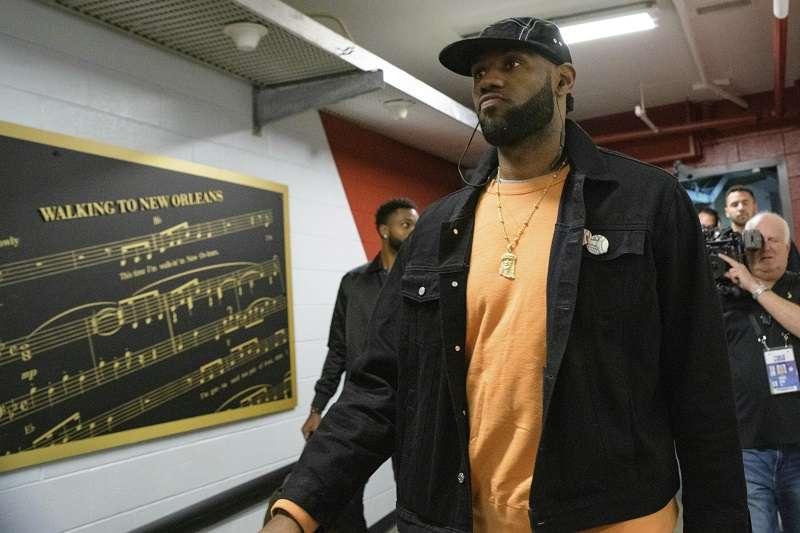詹姆斯表示在2011年的總冠軍賽後開始更加關注自己的心理健康狀態。(美聯社)