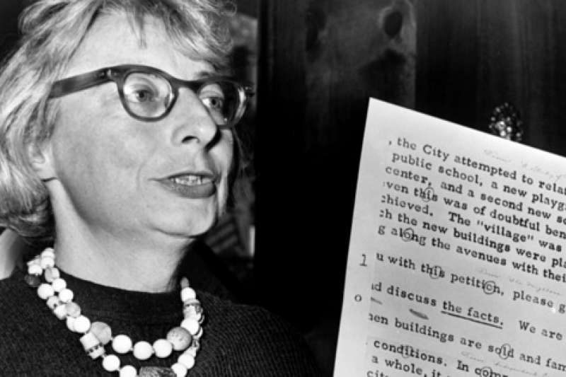 珍雅各(Jane JAcobs)(截圖自Citizen Jane: Battle for the City預告片)